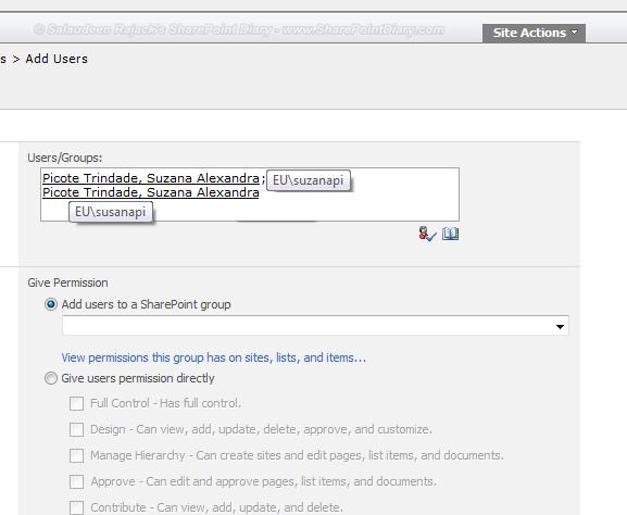 Spuser login name format for essay