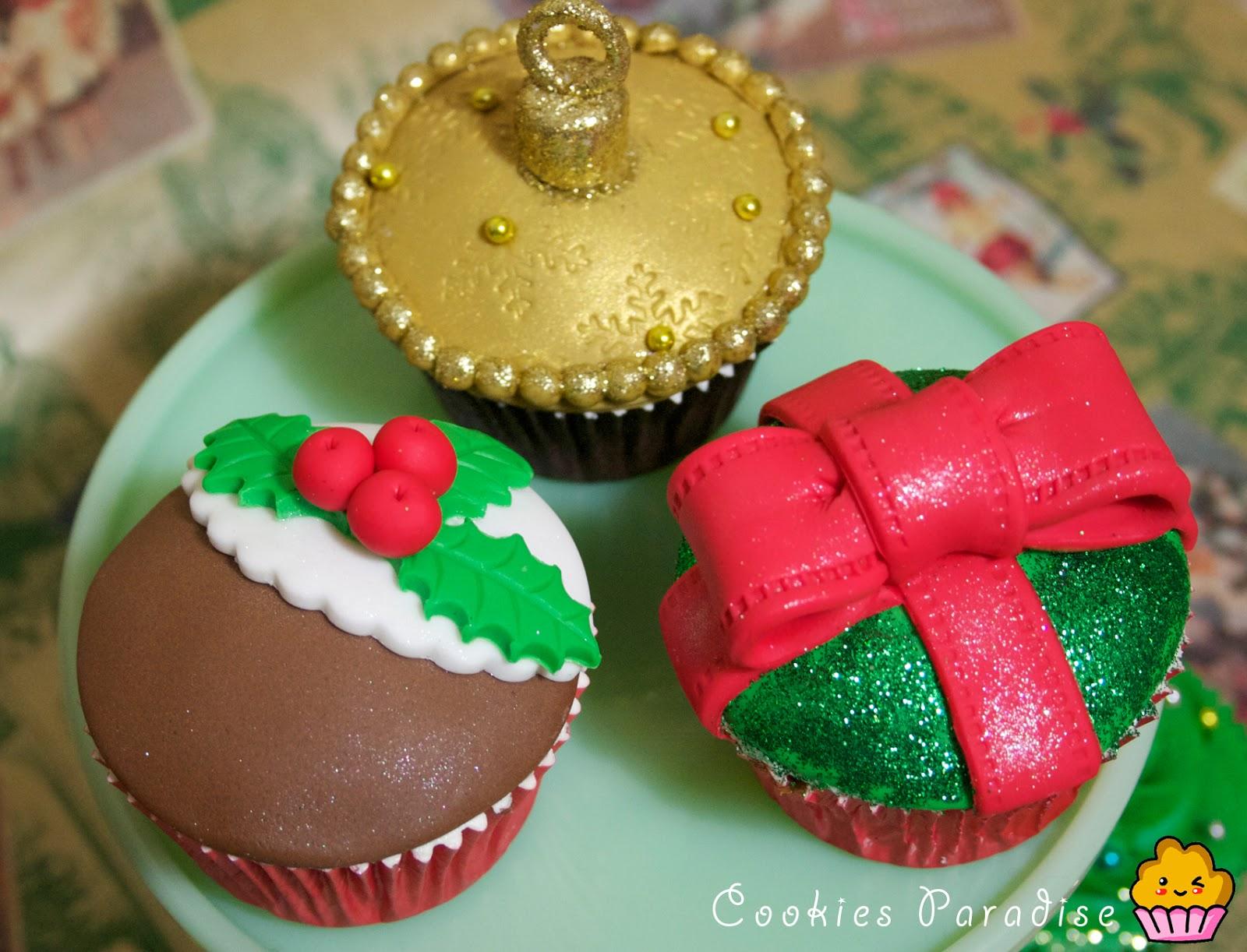 Mis cupcakes de navidad 2!! – CookiesParadise\'s Blog