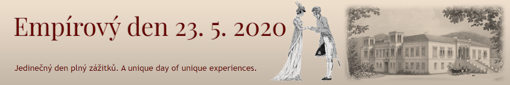 Empírový den 23. 5. 2020