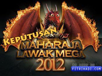 keputusan final maharaja lawak mega akhir 2012