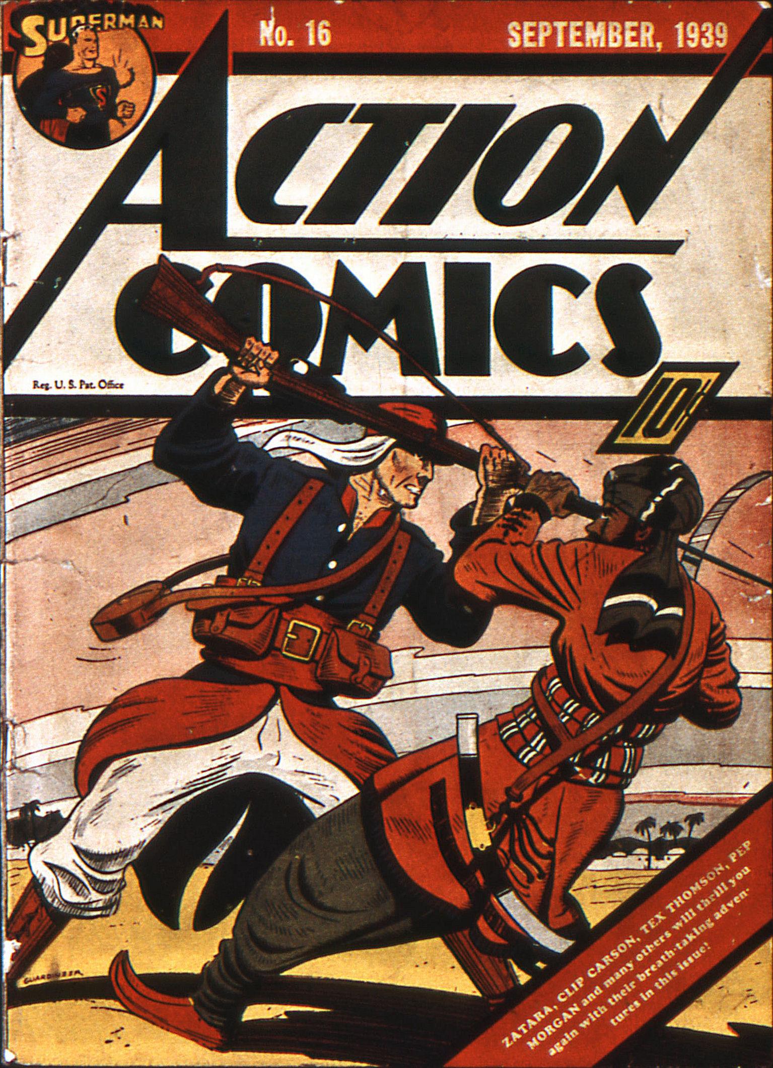 Action Comics (1938) 16 Page 1