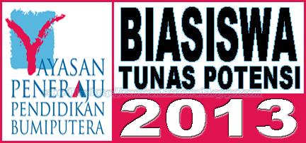 Tawaran Biasiswa Yayasan Peneraju Pendidikan Bumiputera (YPPB) 2013 Dalam dan Luar Negara