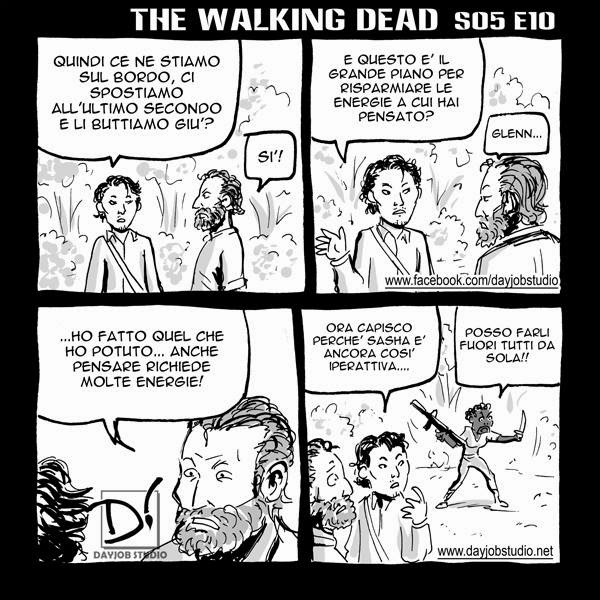 The Walking Dead 5x10  (Dayjob Studio)