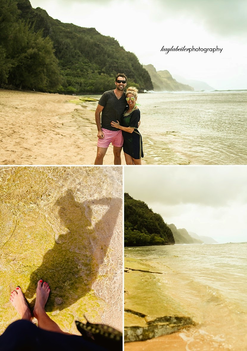 kee beach kauai photo