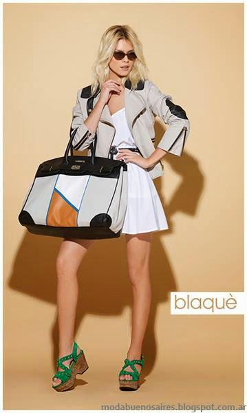 Blaque sandalias moda verano 2014.
