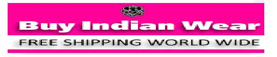 Indian designer wear and bollywood fashion wear with free shipping offer.