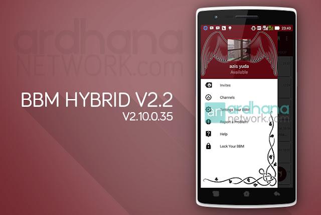 BBM Hybrid V2.2 - BBM Android V2.10.0.35