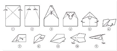 Suzzane Paper Airplane