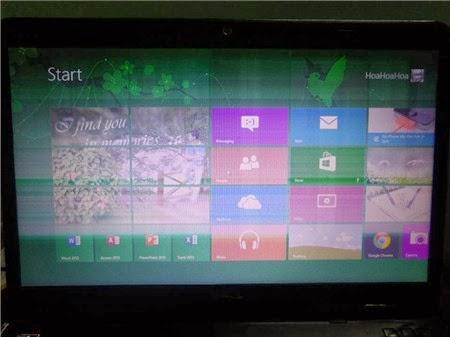 Lỗi LCD