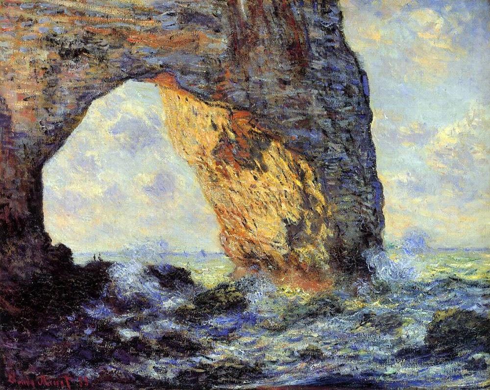 Claude Monet Artwork Of Art Artists Claude Monet Part 17 1886 1887