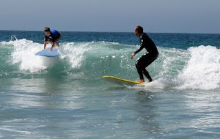 Kids get maximum personal attention at Aloha Beach Camp surf camp in Los Angeles.