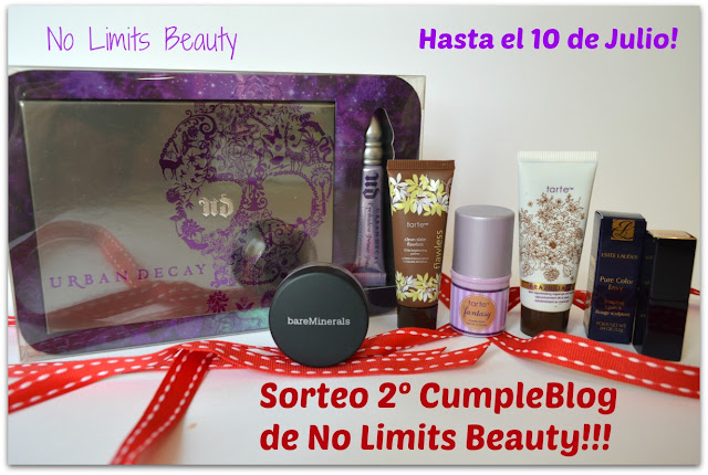Sorteo 2º CumpleBlog de No Limits Beauty