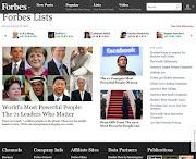 La conocida revista Forbes publicó su esperado listado anual de las personas . papa forbes lista