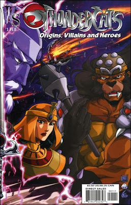 Sword Thundera on Origins  1 Comicbook Villains Heroes Grune Jaga Thundera Sword Omens