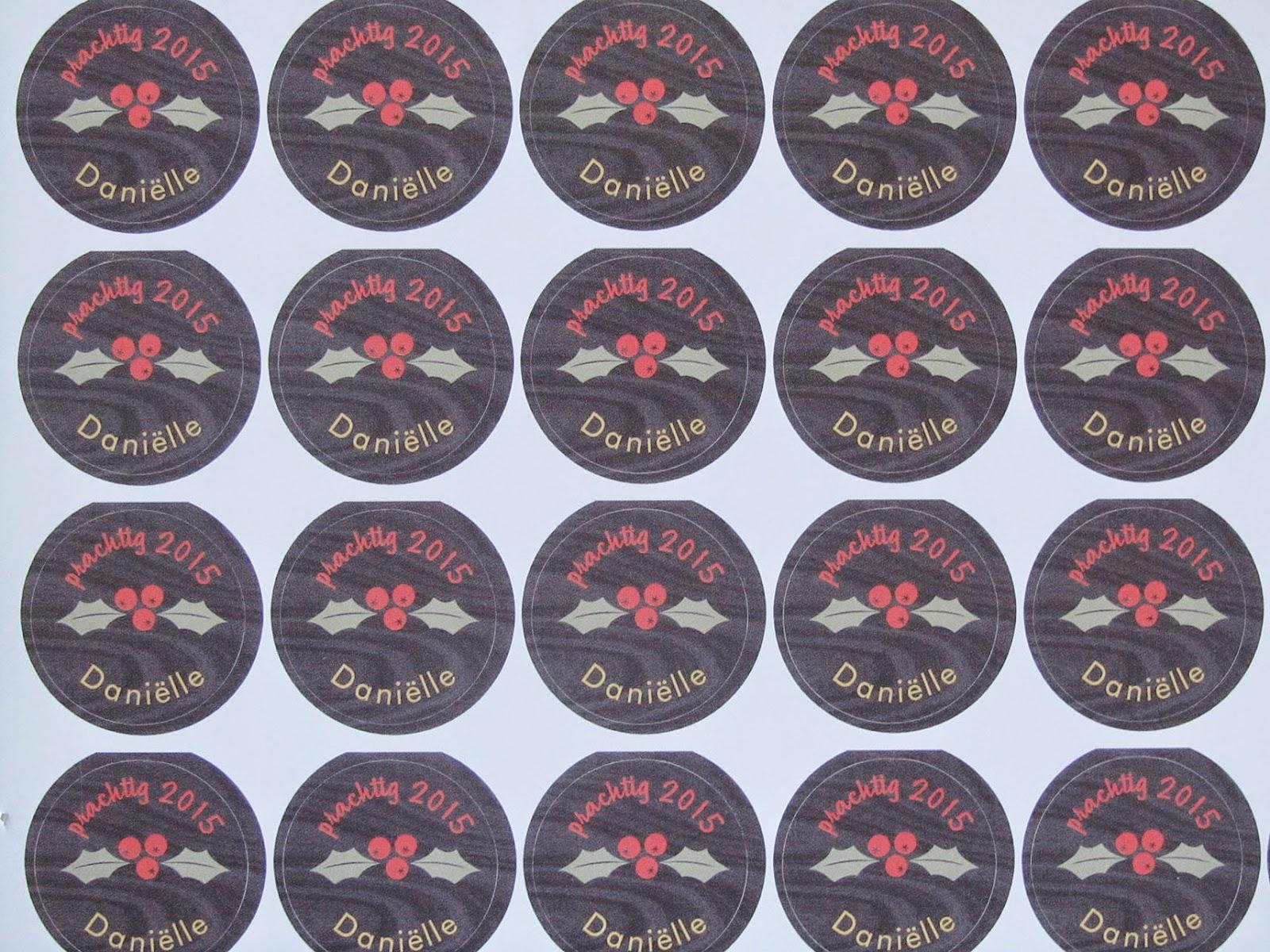 christmas envelope stickers 2014