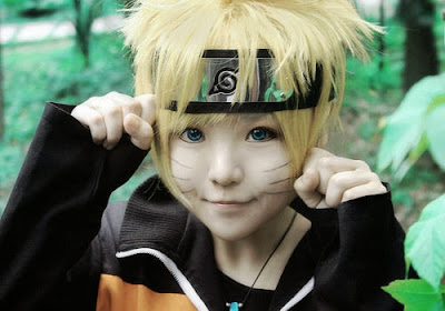 Cosplay Naruto Criança