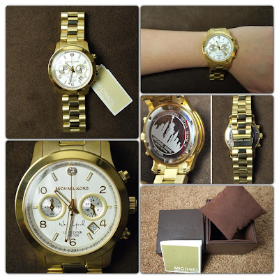 Kors watch limited edition New-York Gold