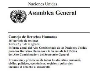 NACIONES UNIDAS - ASAMBLEA GENERAL