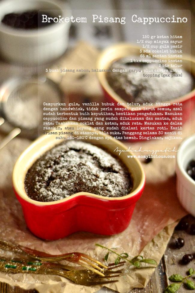 Broketem Pisang Cappucinno [gluten free]