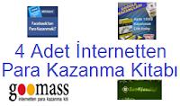 4 Adet Önemli İnternetten Para Kazanma Kitabı