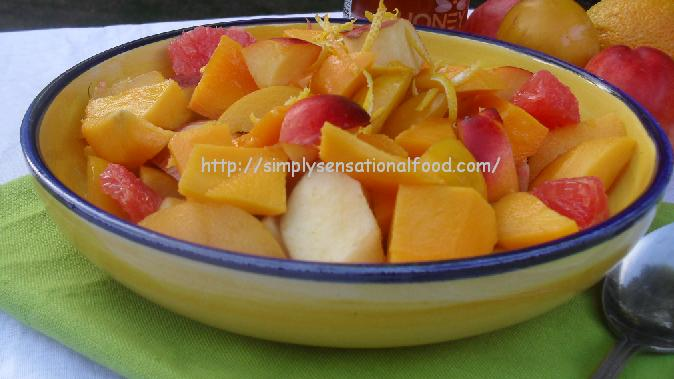 simply.food: Fruit Salad with Ginger Syrup ~Secret Recipe Club ...