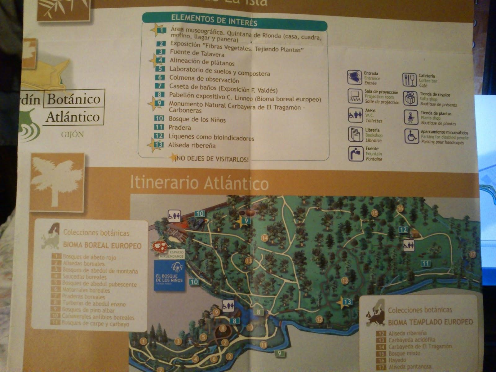 Descubriendo Gijon Jardin Botanico Atlantico