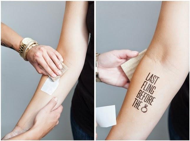 Tatouage personnalisé x 5 Tattoo sticker - Tatouage Personnalisé Temporaire