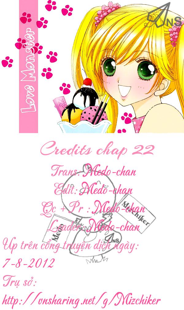 Love♥Monster chap 22 - Trang 30