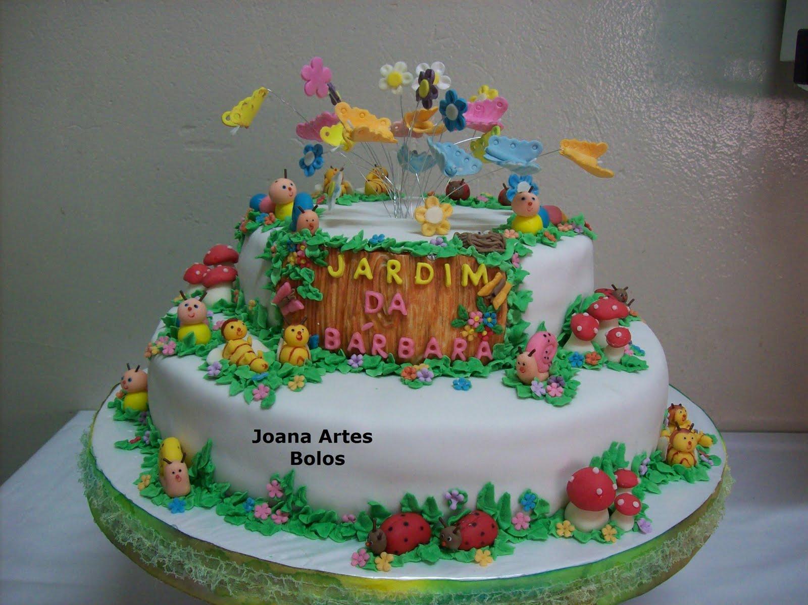 Artes Bolos(UberabaMG) 3433124684 Bolo infantil jardim encantado