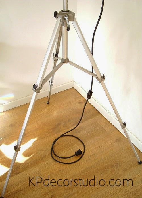Comprar lámparas de pie sobre trípode en valencia