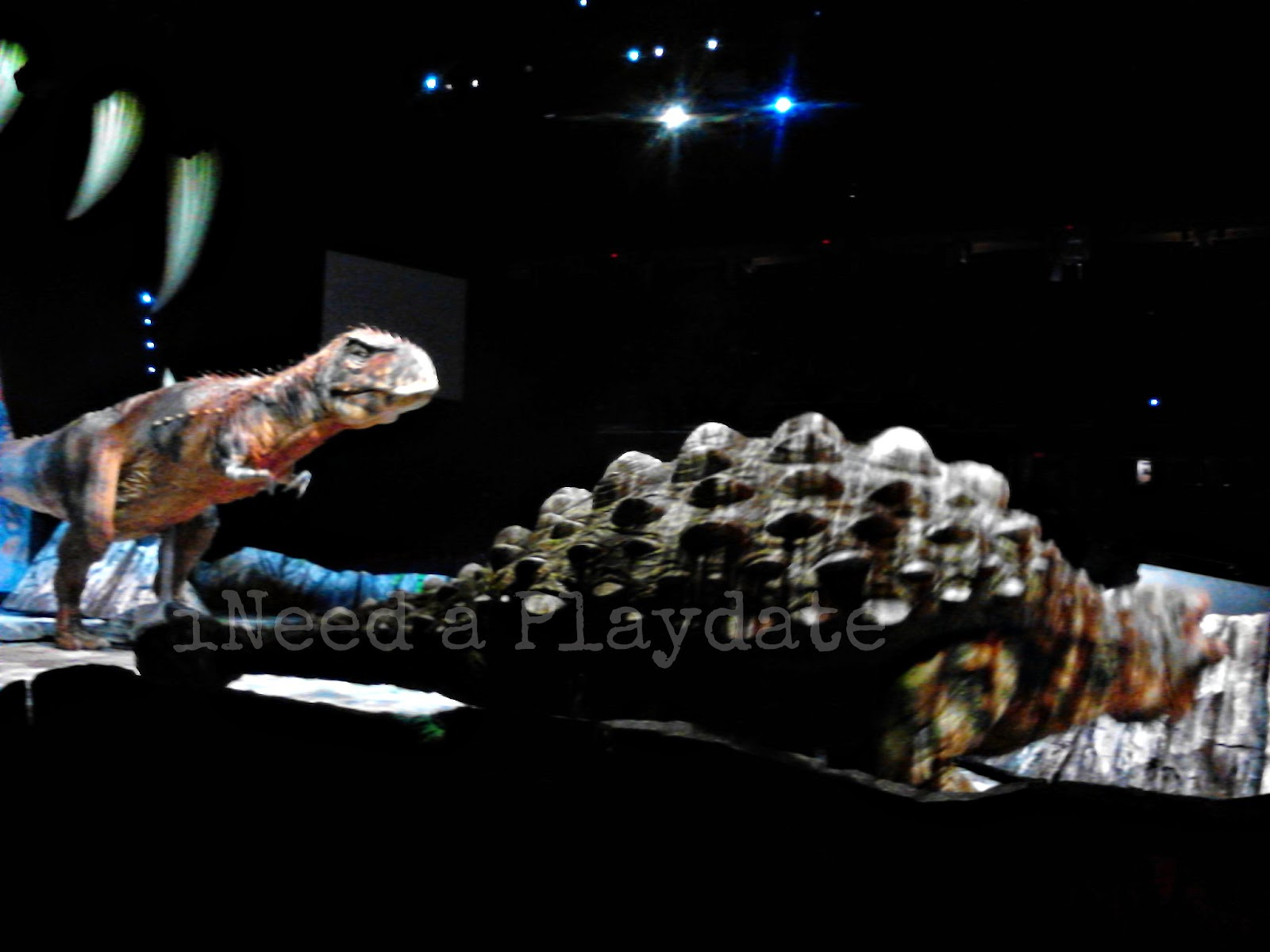 Walking with Dinosaurs Live in Cleveland, Ohio Q Arena