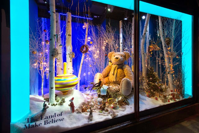 2014 Christmas Windows at Harrods in London