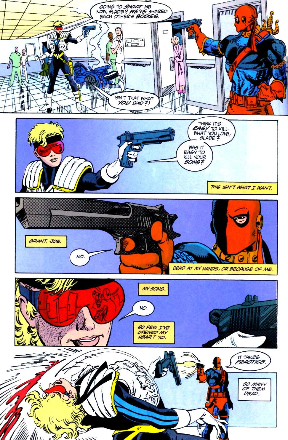 Deathstroke (1991) Issue #21 #26 - English 22