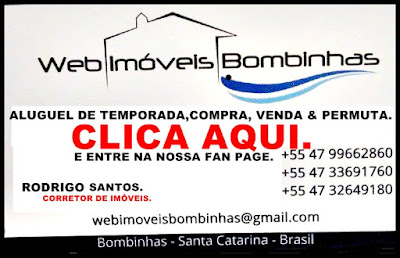 FAN PAGE (FACEBOOK) WEB IMÓVEIS BOMBINHAS.