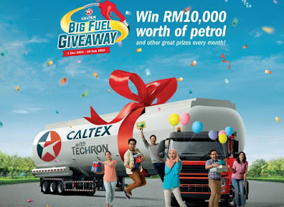 Caltex Big Fuel Giveaway Contest
