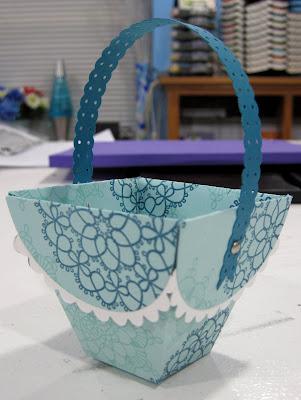 Petal Cone Basket