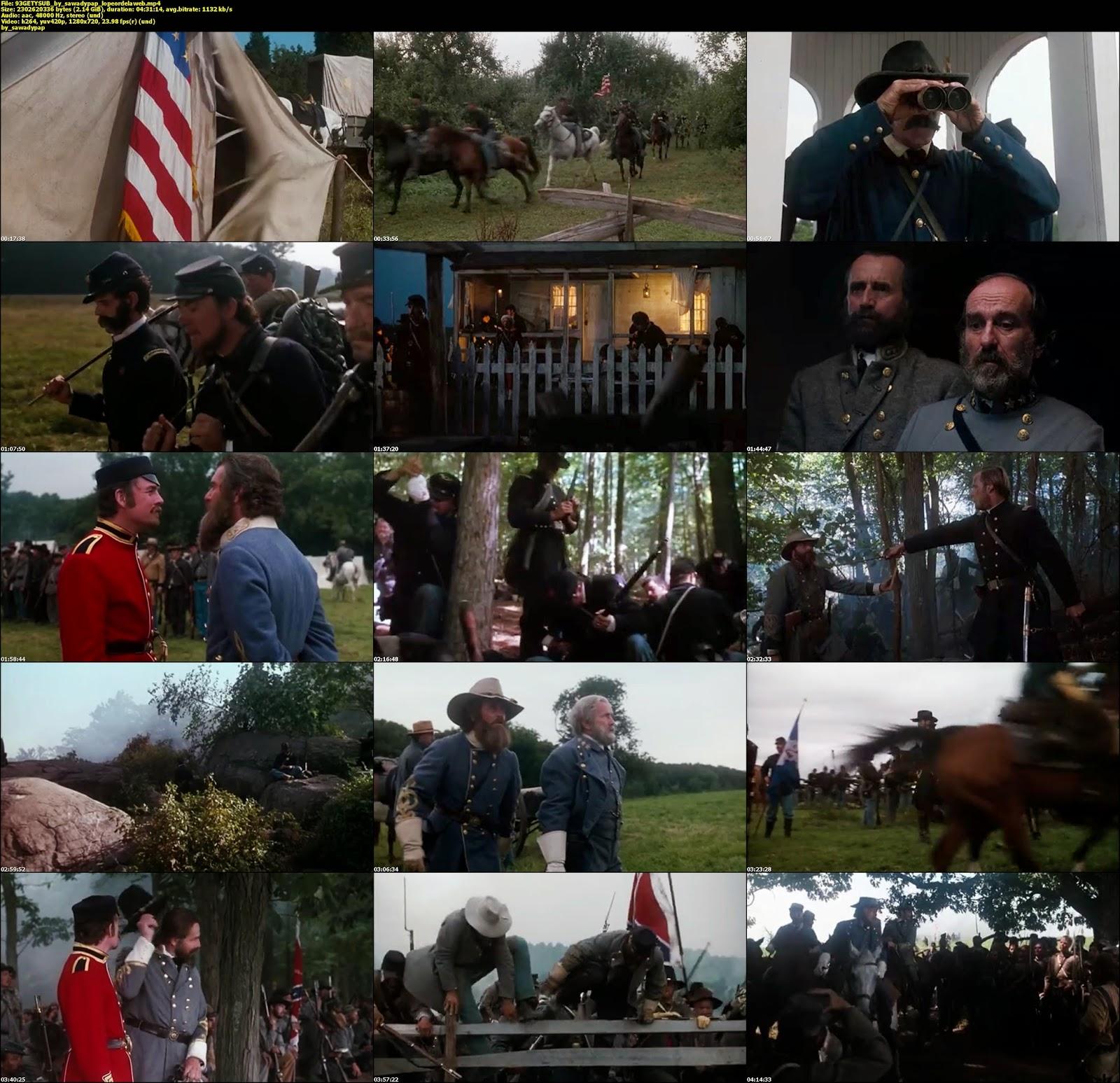 Gettysburg  [1993] [BBRip] [Subtitulada]