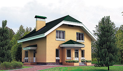 Сдвоенный дом