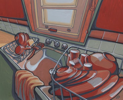 The Washing Up by Alisa Perks