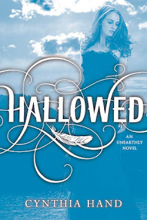 book cover of Hallowed by Cynthia Hand