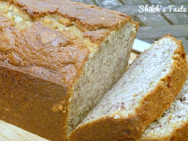 Banana Bread from Shiloh's Taste