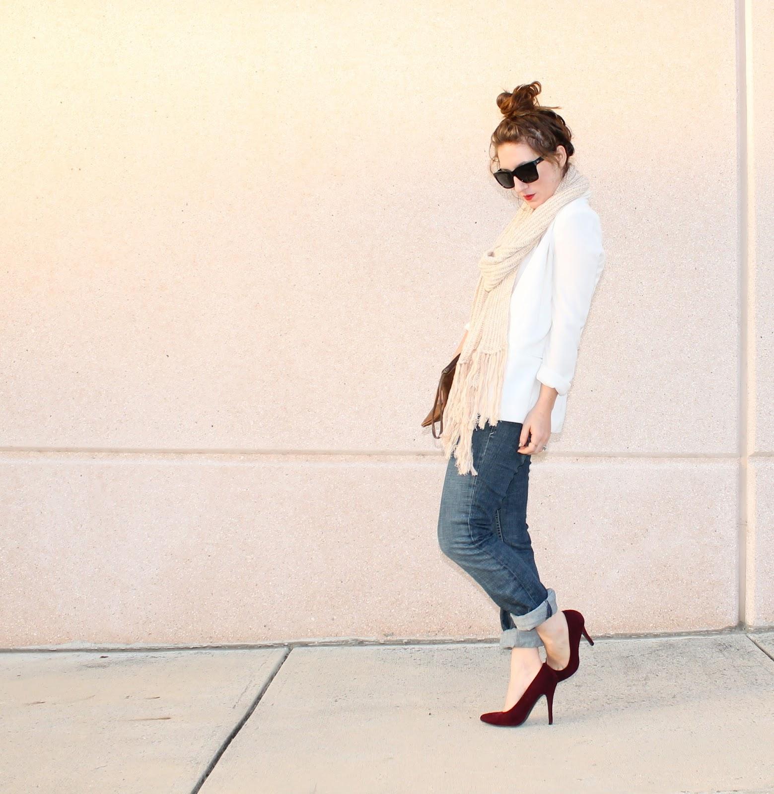 how to wear white blazers