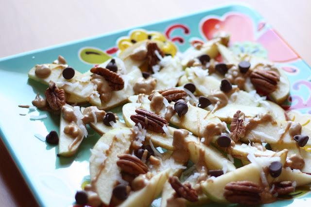 Apple Nachos recipe by Barefeet In The Kitchen
