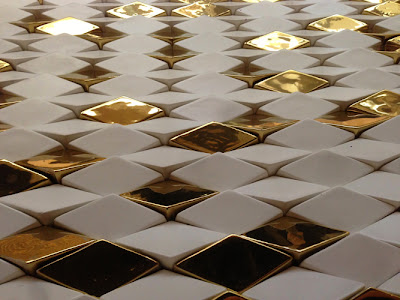 London-based designer Giles Miller's surface tiles