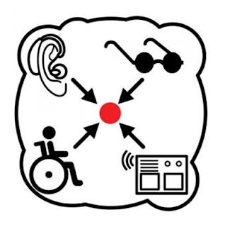 Pictograma de Arasaac relativo a la accesibilidad