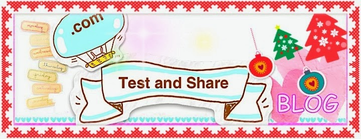 Test and  Share