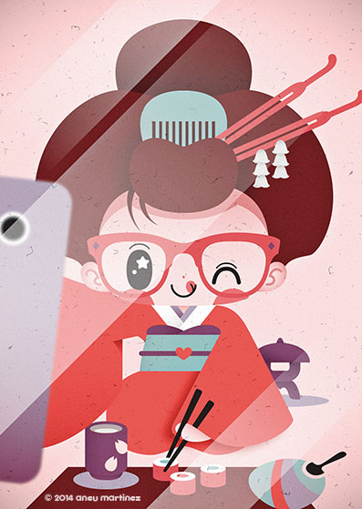 eating-sushi-selfie-aneu-martinez-pictoplasma-portrait-gallery