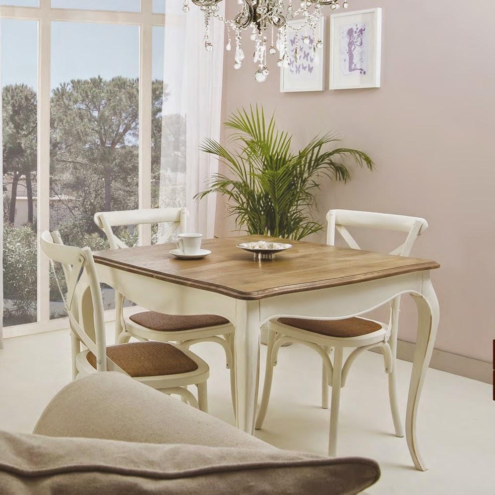 Mesas de comedor 5 mesas de comedor chic - Mesa de comedor cuadrada ...