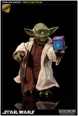 Sideshow Collectibles 1/6 scale Master Yoda figure Exclusive Version