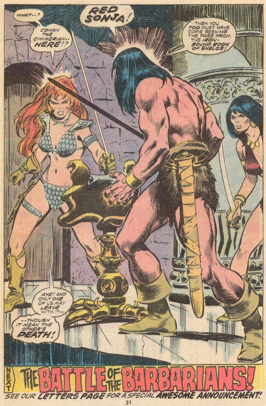 Conan the Barbarian (1970) Issue #66 #78 - English 20